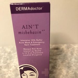 Derma Doctor Ain't Misbehaving Acne Mask New